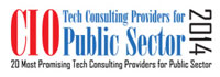 Top 20 Public Sector Technology Consulting/Services Companies - 2014