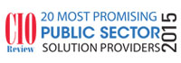 20 Most Promising Public Sector Solution Providers - 2015