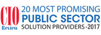 20 Most Promising Public Sector Solution Providers - 2017